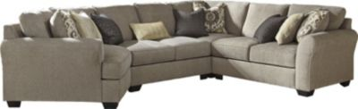 Ashley Pantomine Left-Side Chaise 4-Piece Sectional