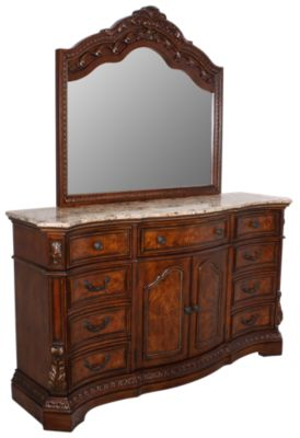 Ashley Ledelle Dresser with Mirror