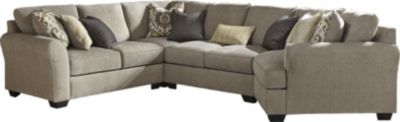 Ashley Pantomine Right-Side Cuddler 4-Piece Sectional