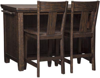 Ashley Trudell Counter Table & 2 Stools