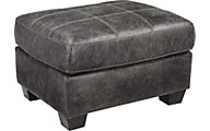 Ashley Inmon Gray Ottoman
