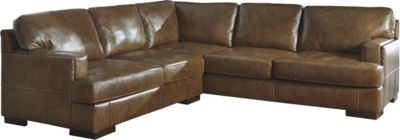 Ashley Vincenzo 2-Piece Right-Side Sofa Leather Sectional