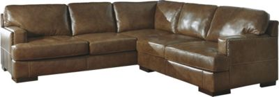 Ashley Vincenzo 2-Piece Left-Side Sofa Leather Sectional