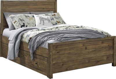 Ashley Fennison Twin Storage Bed