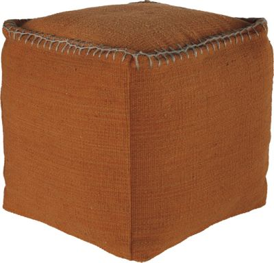 Ashley A10003 Collection Orange Pouf