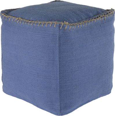 Ashley A10003 Collection Blue Pouf