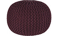 Ashley A10003 Collection Purple Pouf