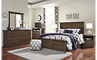 Ashley Burminson 4-Piece Queen Storage Bedroom Set