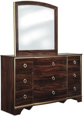 Ashley Lenmara Dresser with Mirror