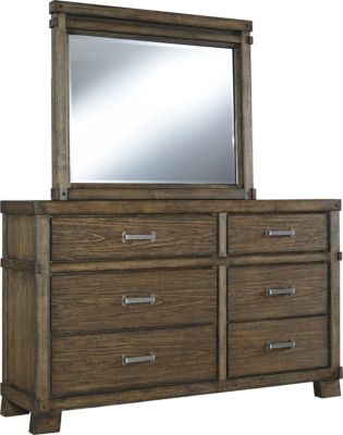 Ashley Leystone Dresser with Mirror