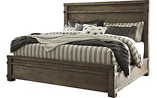 Ashley Leystone King Bed