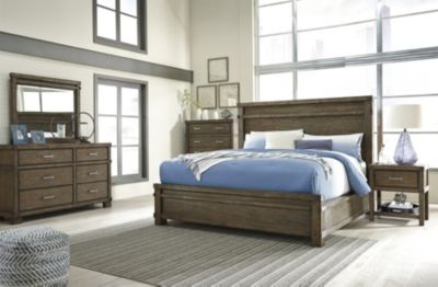 Ashley Leystone 4-Piece King Bedroom Set