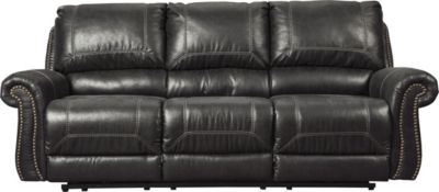 Ashley Milhaven Black Reclining Sofa