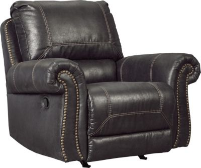 Ashley Milhaven Black Power Rocker Recliner