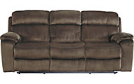 Ashley Uhland Brown Power Reclining Sofa