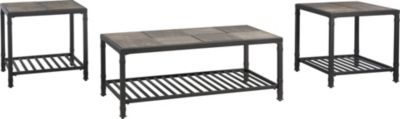 Ashley Chelner Coffee Table & 2 End Tables