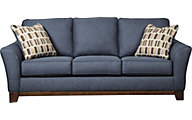 Ashley Janley Blue Sofa