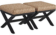 Ashley Leola Accent Ottoman (Set of 2)