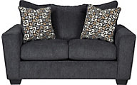 Ashley Wixon Gray Loveseat