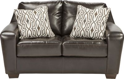 Ashley Coppell Bonded Leather Loveseat