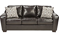 Ashley Coppell Bonded Leather Queen Sleeper Sofa