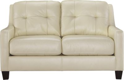 Ashley O'Kean Cream Loveseat