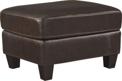 Ashley O'Kean Espresso Ottoman