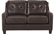 Ashley O'Kean Espresso Loveseat