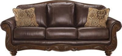 Ashley Mellwood Leather Sofa
