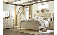 Ashley Bolanburg 4-Piece King Bedroom Set