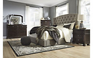 Ashley Gerlane 4-Piece King Upholstered Bedroom Set