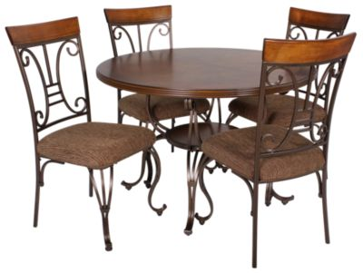 Ashley Plentywood 5-Piece Dining Set