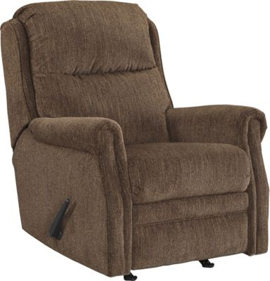 Ashley Earles Brown Rocker Recliner