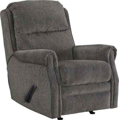Ashley Earles Gray Rocker Recliner