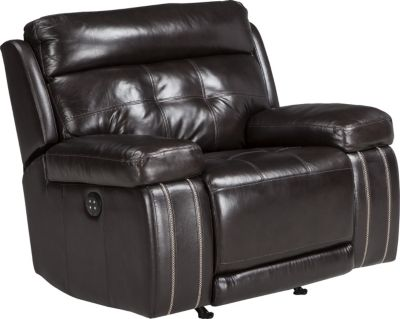 Ashley Graford Brown Power Recliner
