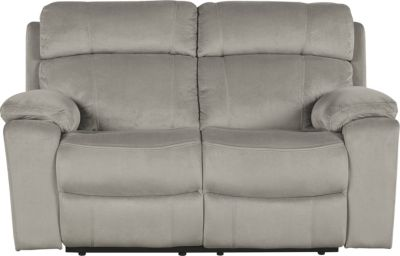 Ashley Uhland Gray Power Reclining Loveseat