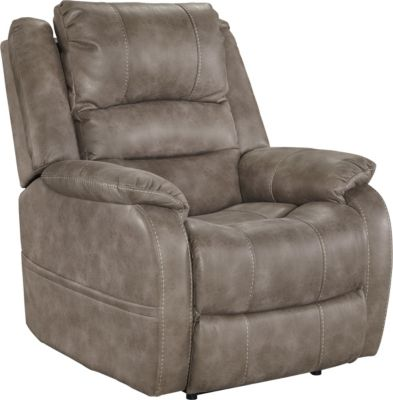 Ashley Barling Gray Power Recliner