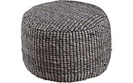 Ashley Achiles Natural Pouf