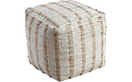 Ashley Damir Natural Pouf