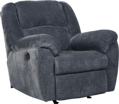 Ashley Timpson Indigo Rocker Recliner