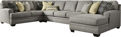 Ashley Cresson 4-Piece Right-Side Cuddler Sectional