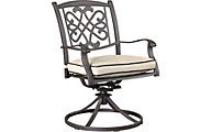 Ashley Burnella Outdoor Swivel Dining Chair