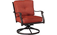 Ashley Burnella Outdoor Swivel Lounge Chair