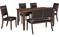 Ashley Meredy 6-Piece Dining Set