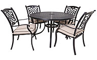 Ashley Burnella 5-Piece Round Outdoor Dining Set