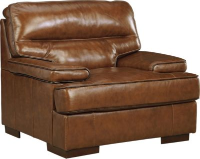 Ashley Palner Leather Chair