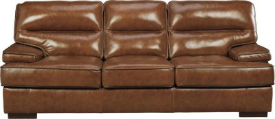 Ashley Palner Leather Sofa