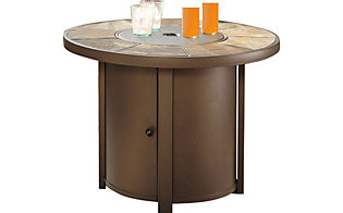 Ashley Predmore Outdoor Fire Pit Table