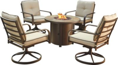 Ashley Predmore 5-Piece Outdoor Fire Pit Table Set