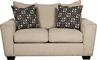 Ashley Wixon Cream Loveseat